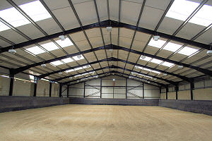 Refurbishment of Indoor Equestrian Centre at the Whitcombe Racing Stables, Near Dorchester, Dorset.