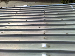Orion Alloys, Harlow, Essex Warehouse overroof.
